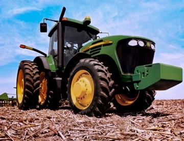 Deere-tractor